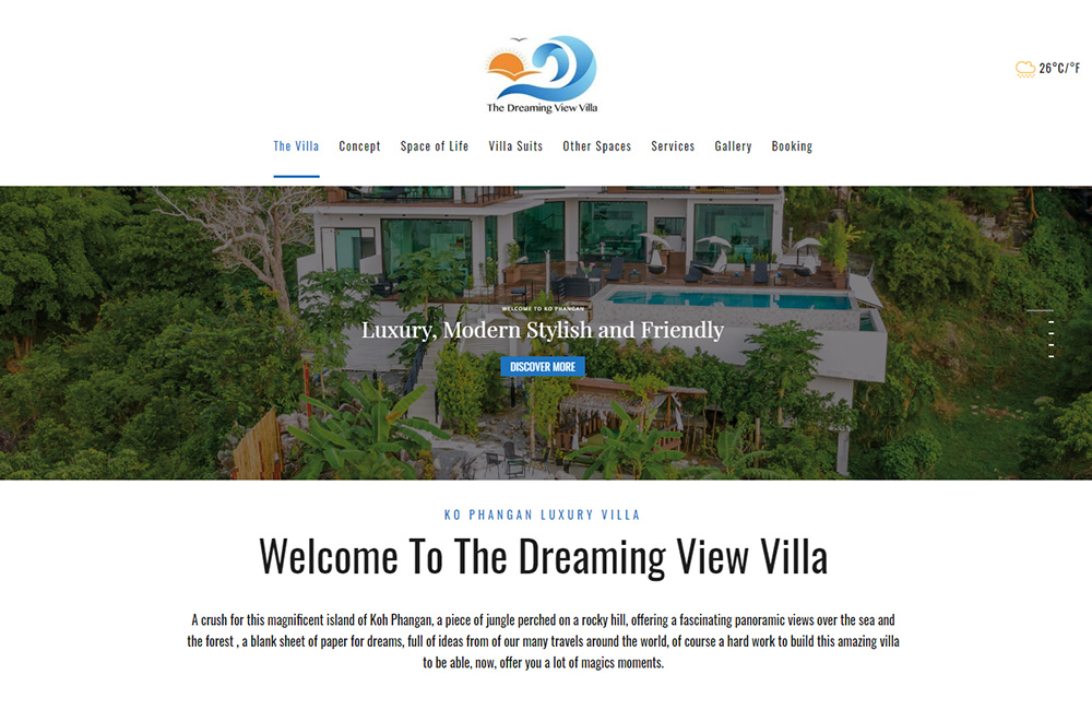 Dreaming View Villa